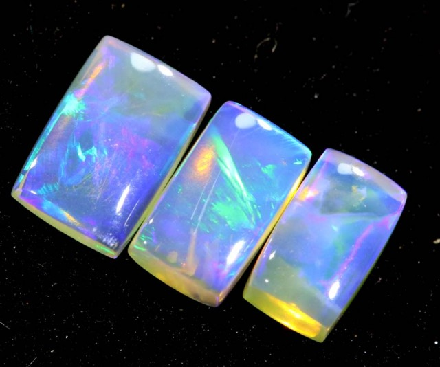 1.20CTS CRYSTAL OPAL PARCEL POLISHED 3PC TBO-6703
