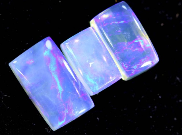 1.50CTS CRYSTAL OPAL PARCEL POLISHED 3PC TBO-6706