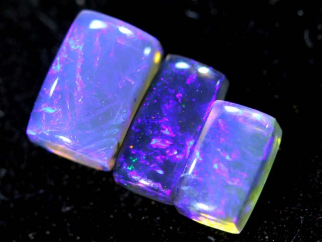 1.55CTS CRYSTAL OPAL PARCEL POLISHED 3PC TBO-6712