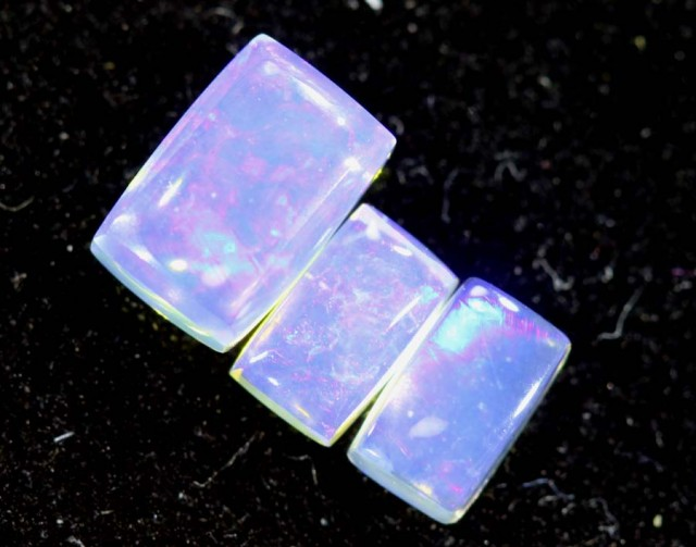1.25CTS CRYSTAL OPAL PARCEL POLISHED 3PC TBO-6717