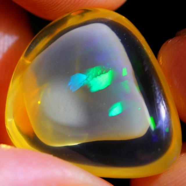 13.15Ct Phantom Ghost Inclusion Ethiopian Welo Specimen Crystal Opal
