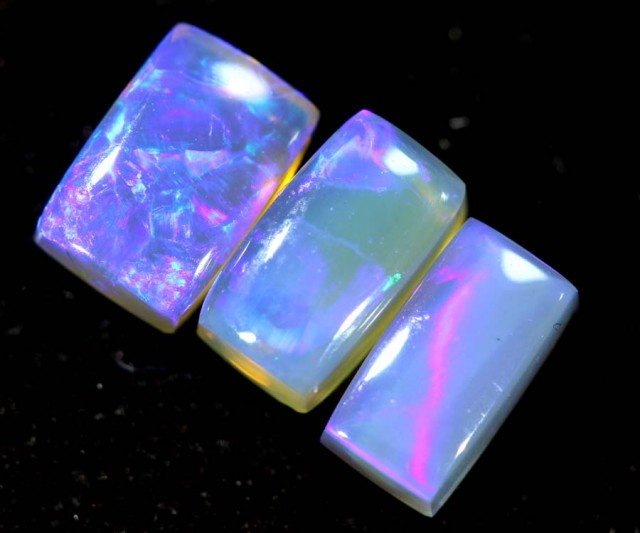1.80CTS CRYSTAL OPAL POLISHED PARCEL 3PC TBO-6721
