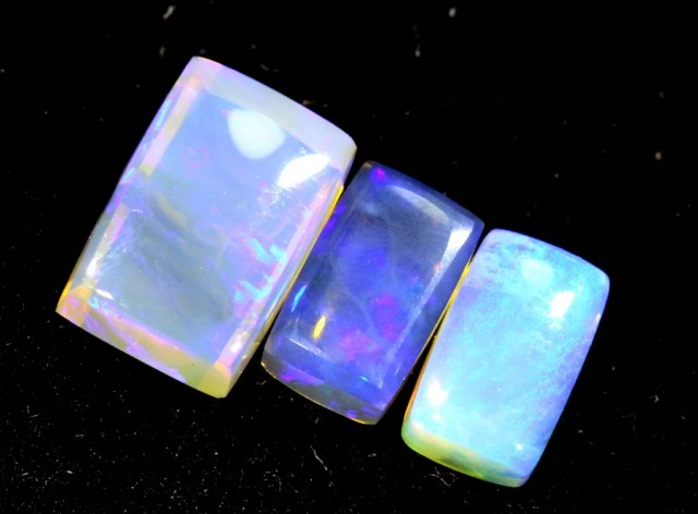 1.35CTS CRYSTAL OPAL PARCEL POLISHED 3PC TBO-6730