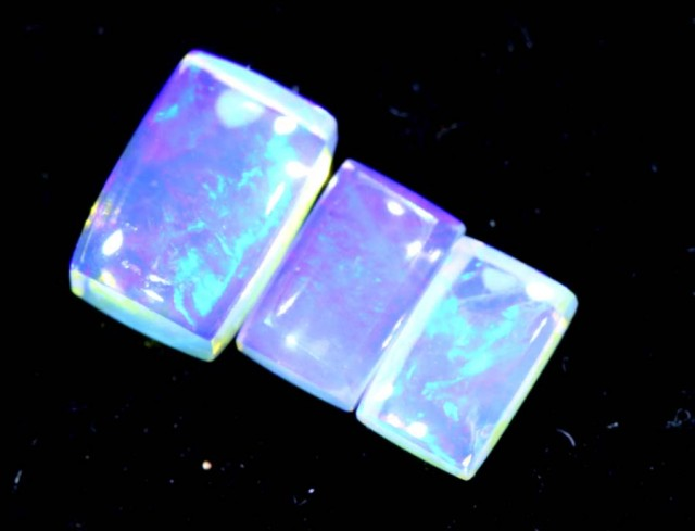 1.25CTS CRYSTAL OPAL PARCEL POLISHED 3PC TBO-6731