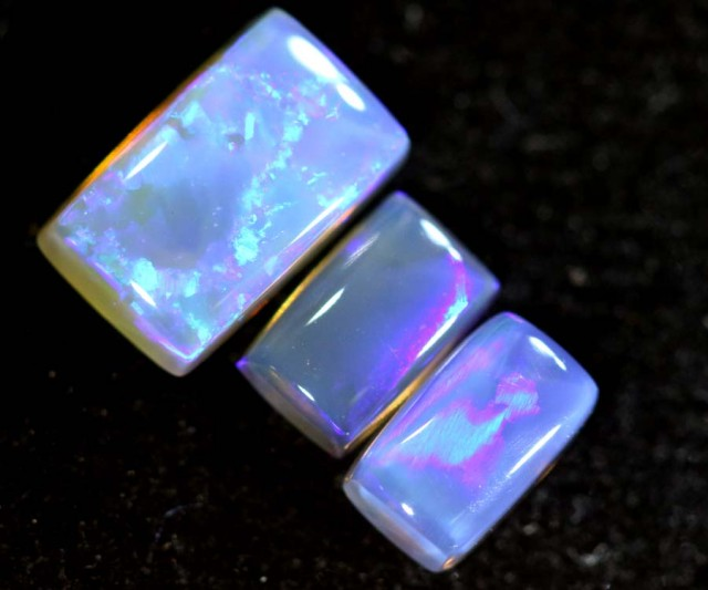 1.30CTS CRYSTAL OPAL PARCEL POLISHED 3PC TBO-6736