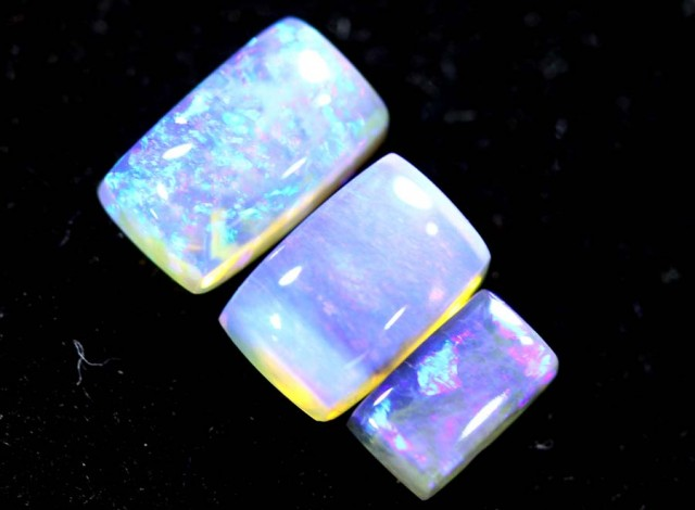 1.55CTS CRYSTAL OPAL PARCEL POLISHED 3PC TBO-6738
