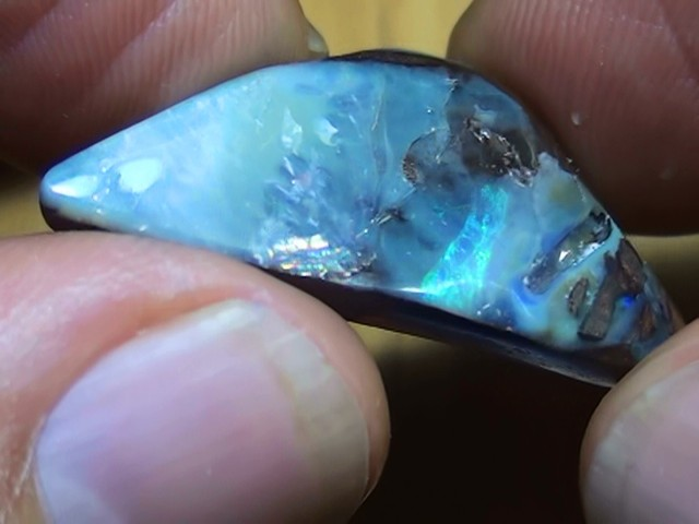 18.10 ct Boulder Opal With A Touch Of Color