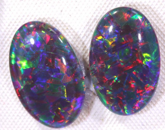 8.40CTS QUALITY TRIPLET PAIRS OPAL STONE TBO-6760