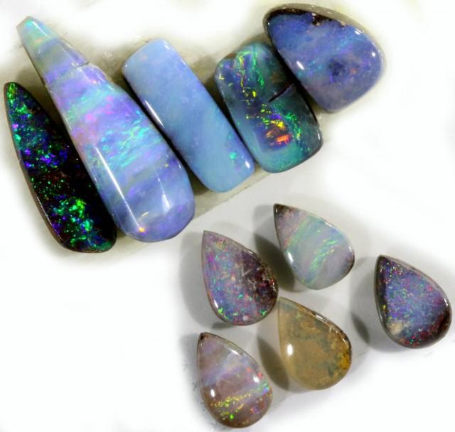 10 cts Parcel Boulder Opals PPP  1289