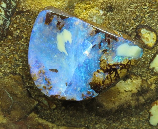 "9cts.""BOULDER OPAL~WHOLESALE 2U DIRECT"""