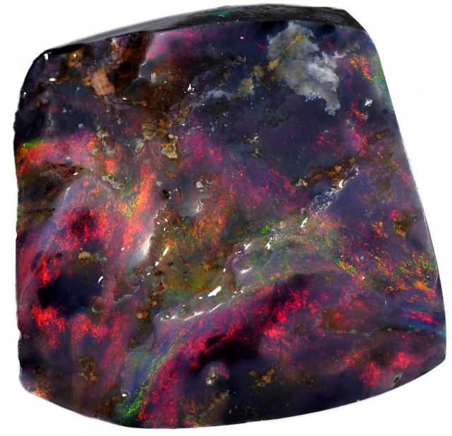 31.05 CTS BLACK OPAL ROUGH FOR CARVING [BR5301] SAFE