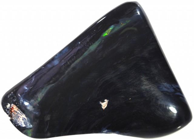 41.60 CTS   BLACK  OPAL SPECIMEN POLISHED [SO9189]