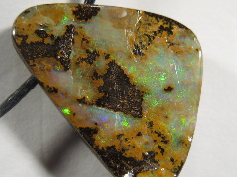 YOWAHOPALS*14.35ct Gem Green Boulder -PENDANT-