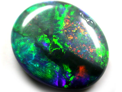 VIDEO FASCINATING FIRERY MINTBY BLACK OPAL 5.80 CTS AA38