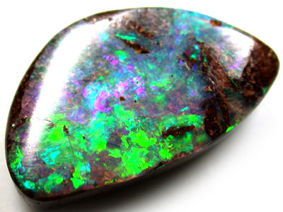 VIDEO GORGEOUS DOUBLE SIDED BOULDER OPAL 5.5 CARATS QO1523