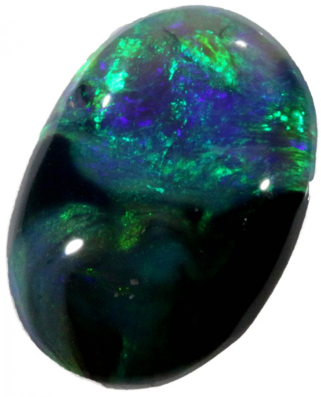 1.35 CTS BLACK OPAL STONE -WELL POLISHED [BO291]