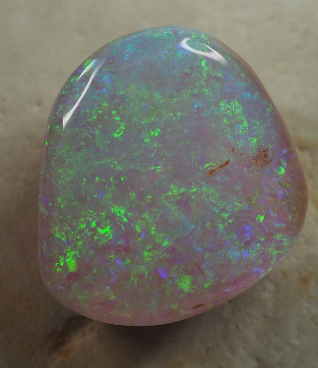 9.55 CT WOOD REPLACEMENT BOULDER OPAL   S01347