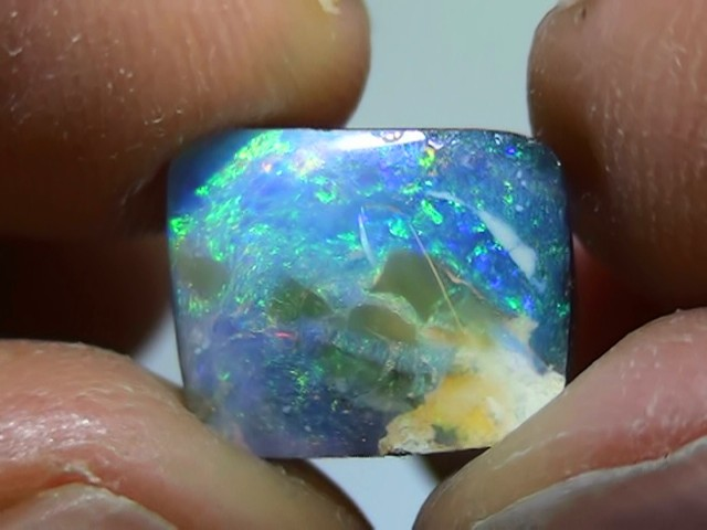 4.55 ct Boulder Opal With Multi Color