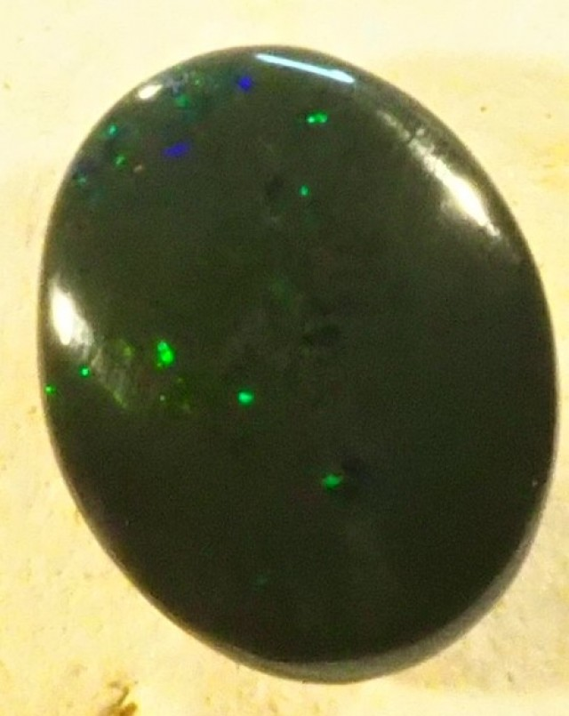 3.75 CT LIGHTNING OPALS BLACK OPAL  SS01377