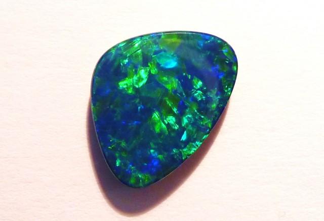 3.41ct Australian Coober Pedy Opal Doublet, Gem Grade