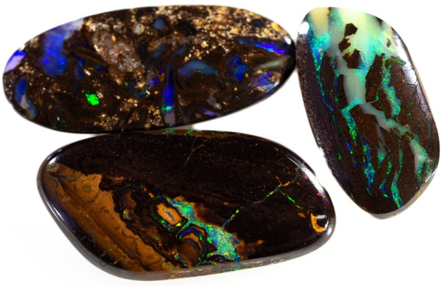 15.90 CTS WELL POLISHED BOULDER OPAL PARCEL [BMA4455]