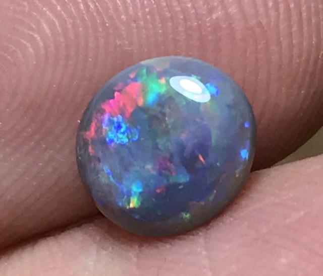 1.30ct Lightning Ridge Gem Semi Black Opal LR274