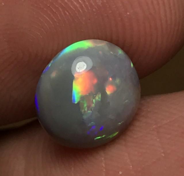3.38ct Lightning Ridge Gem Semi Black Opal LR290