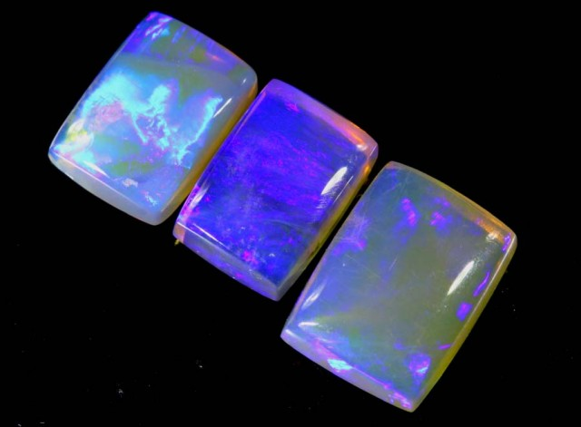 3.25 CTS CRYSTAL OPAL POLISHED PARCEL 3PCS TBO-6794