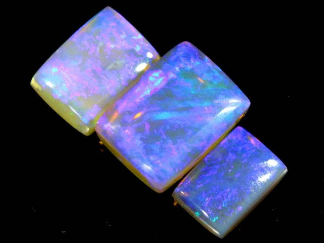 3.95 CTS CRYSTAL OPAL POLISHED PARCEL 3PCS TBO-6799