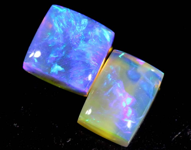 3.5 CTS CRYSTAL OPAL POLISHED PARCEL 3PCS TBO-6803