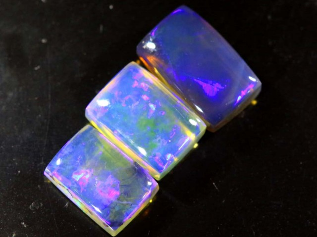 3.2  CTS CRYSTAL OPAL POLISHED PARCEL 3PCS TBO-6810