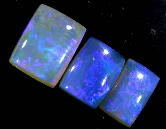 4.65 CTS CRYSTAL OPAL POLISHED PARCEL 3PCS TBO-6839