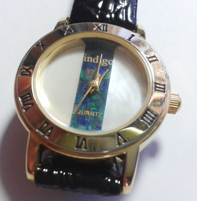 Beautiful Ladies Mosiaic Australian Opal Watch