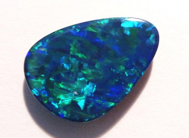 3.22ct Stunning Australian Opal Doublet (#2700)