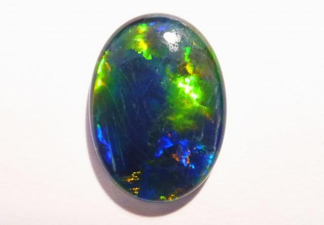 18x13mm Australian Coober Pedy Opal Triplet, Gem Grade