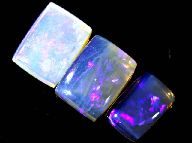 4.05 CTS CRYSTAL OPAL POLISHED PARCEL 3PCS TBO-6875