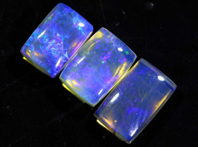 2.85 CTS CRYSTAL OPAL POLISHED PARCEL 3PCS TBO-6885