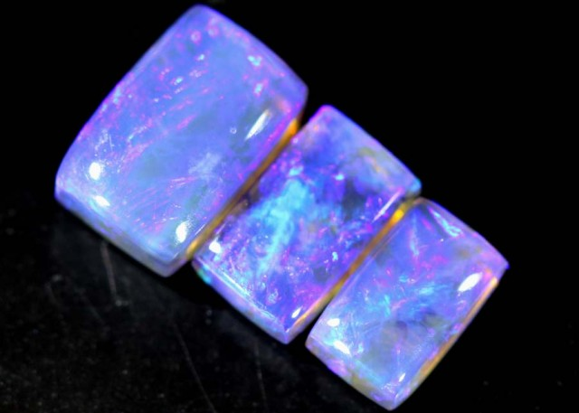 1.25 CTS CRYSTAL OPAL POLISHED PARCEL 3PCS TBO-6892