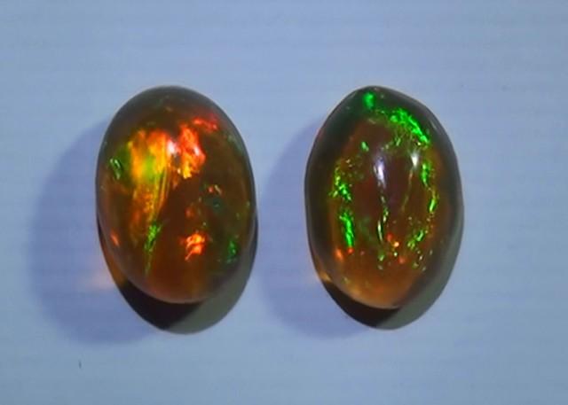 1.05 ct Ethiopian Gem Color Welo Opal Cab
