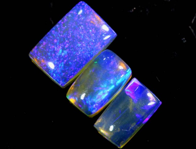 1.15 CTS CRYSTAL OPAL POLISHED PARCEL 3PCS TBO-6910