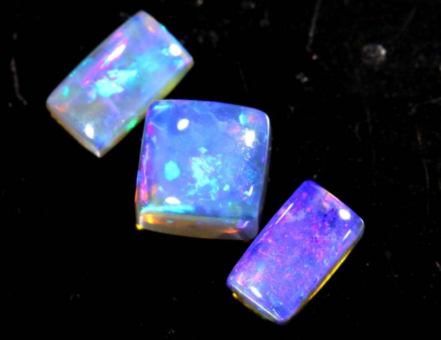 1.2 CTS CRYSTAL OPAL POLISHED PARCEL 3PCS TBO-6916