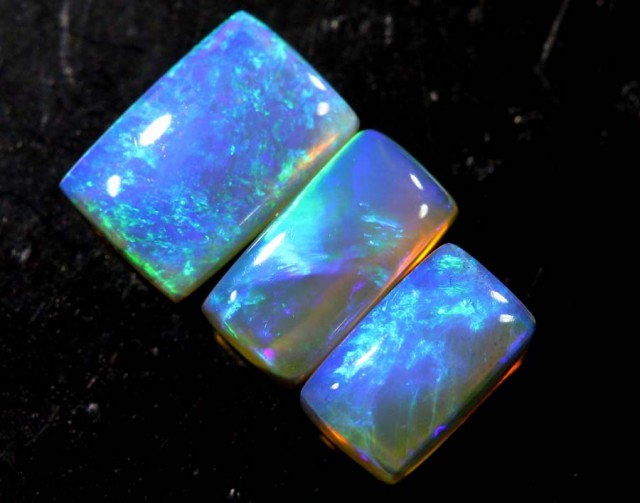 1.15 CTS CRYSTAL OPAL POLISHED PARCEL 3PCS TBO-6927