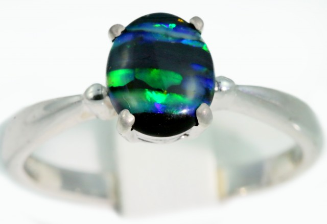 cocktail oval opal halo band diamond jamie ring rings black engagement