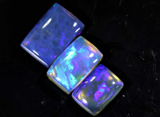 3.55 CTS CRYSTAL OPAL POLISHED PARCEL 3PCS TBO-6948