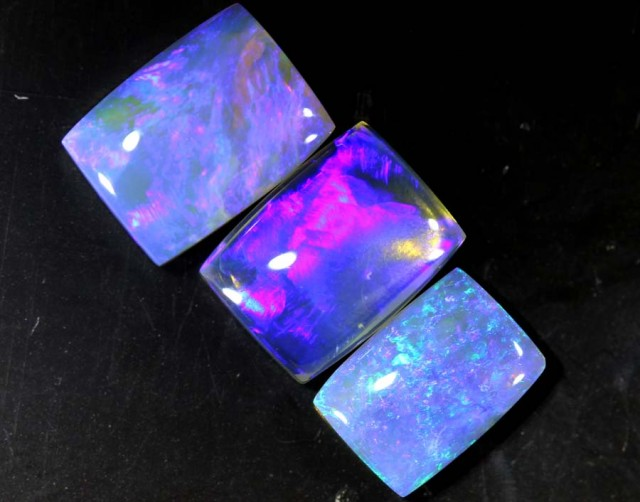 3.55 CTS CRYSTAL OPAL POLISHED PARCEL 3PCS TBO-6962