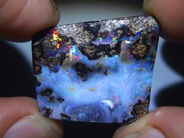 23.30 ct Boulder Opal With Gem Multi Color