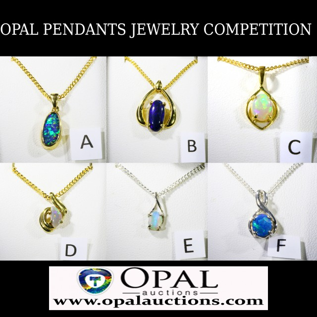 DO NOT BID OPAL JEWELRY COMPETITION