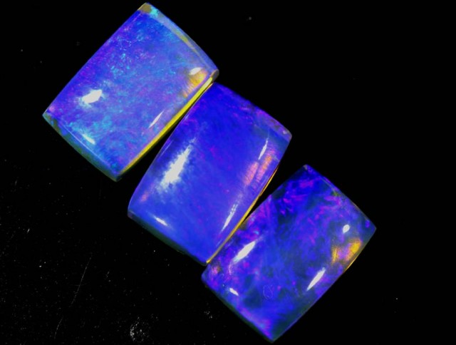 2.05 CTS CRYSTAL OPAL POLISHED PARCEL 3PCS TBO-6977