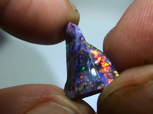 4.35 ct Boulder Opal With Gem Multi Color