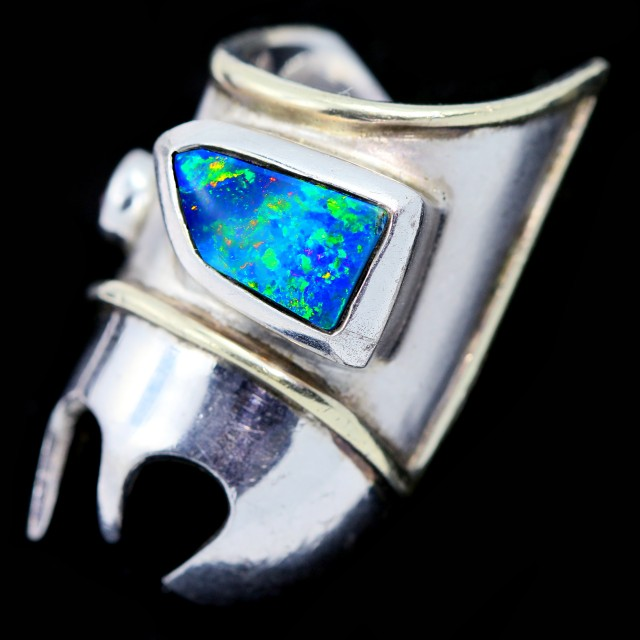 Bikers Wild  GF Opal Ring Creation  CF 1284